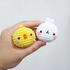 Crochet Animal Patterns, Crochet Patterns Amigurumi, Crochet Animals, Crochet Dolls, Knitting Patterns, Kawaii Crochet, Cute Crochet, Crochet Crafts, Crochet Projects