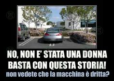 E basta con questa facile e stupida ironia!!!  #bastardidentro #auto #parcheggio…