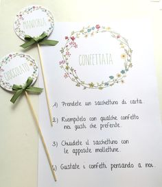 CONFETTATA istruzioni – The little thins – Event planning, Personal celebration, Hosting occasions Wedding Cards, Diy Wedding, Wedding Events, Dream Wedding, Wedding Day, Wedding Stationery, Wedding Planner, Wedding Invitations, Tableau Marriage