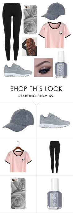 """""""Untitled #75"""" by roryhildreth ❤ liked on Polyvore featuring New Look, NIKE, Polo Ralph Lauren, Casetify and Essie"""