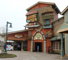 Top five things to do at the Island in Pigeon Forge. #5: The Mirror Maze http://www.coaster101.com/2014/05/01/the-island-pigeon-forge-review/
