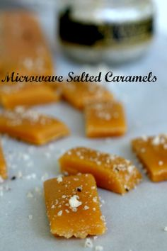 Microwave salted caramels are easy to make -- even for beginners.