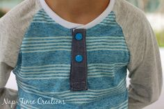 Henley Shirt placket tutorial 8