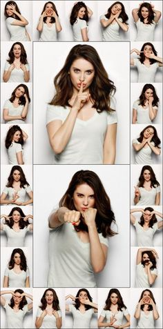 The many faces of Alison Brie
