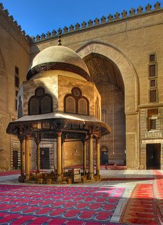 Mosque Sultan Hassan 1363.  Cairo,  EGYPT.     (by jianzhi, via Flickr)