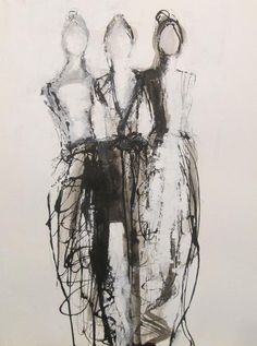 Fine Art, Figure Paintings in Oil and Mixed Media Art Journal Inspiration, Painting Inspiration, Art Inspo, Pencil Art Drawings, Drawing Faces, Manga Drawing, Drawing Tips, Art For Art Sake, Abstract Art