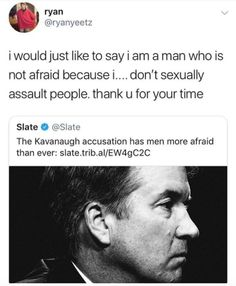 """the only reason these men are """"afraid"""" is that they really and truly, do not treat women with the respect they deserve and sexually abuse/harass them regularly Intersectional Feminism, Pro Choice, Patriarchy, Equal Rights, Faith In Humanity, Social Issues, Social Justice, In This World, Equality"""