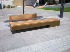 Cantilever Seat With Back
