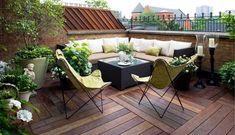 Nápady pro malou zahrádku, balkon či terasu