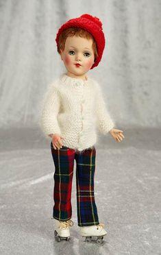 "Tonner Tyler 16/"" doll clothes Green /& White Baseball Jacket For Franklin Dolls"