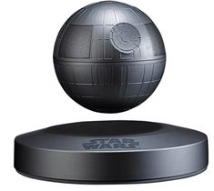 Unbound from the laws of gravity, Plox brings the might of the Empire to your home with the Official Star Wars Levitating Death Star Speaker. The Official Star Wars levitating Death Star is shooting off the big screen and into your home. Star Citizen, Ipod, Cool Tech Gifts, Speakers For Sale, Tech Toys, Star Wars Gifts, Bluetooth Speakers, Bluetooth Gadgets, Death Star