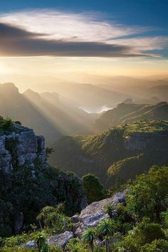 The Blyde River Canyon, South Africa, Amazing Places In South Africa Worth To Visit In A Lifetime
