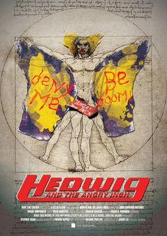 3rd: Movie Poster Redesign - Hedwig
