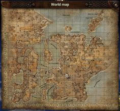 The map of the game's world has been expanded by 100 miles to the North and 100 miles to the East #luckcatchersmmo #world #map #new #empire #union #airship #ship #steampunk #go