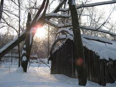 I like winter in my hamlet