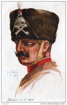 Emile Dupuis illustration HUSSARD DE LA MORT