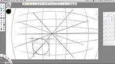 Sketchbook PRO 2015: perspective sketching tools