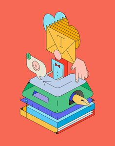 Studio XO — a collection of isometric illustrations that shows the different aspects of the work in a today's design studio. Behance :: Best of Behance Graphic Design Illustration, Illustration Art, Weird Creatures, Illustrations, Design Crafts, Portrait, Icon Design, Pop Art, Pattern Design