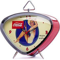 Designed to commemorate Coca–Cola's 125th birthday - retro alarm clock