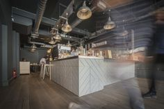 Beanberry Roastery by Liqui Design, London – UK