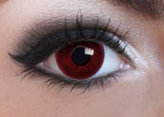 Blood Red Contacts