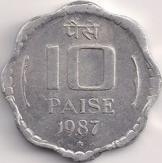 Wertseite: Münze-Asien-Indien-Rupee-0.10-1983-1993