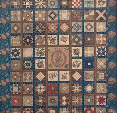Quaker Quilts: A Memento of Our Old Matron: The House of Industry Signature Quilt (Part 1)