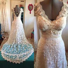 Vestido de noiva Bohemian- Boho chic | Atelier Luana keylla | Elo7