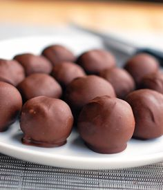 Triple Chocolate Party Balls