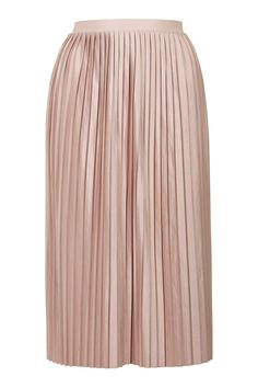 Jersey Pleated Midi Skirt - Skirts - Clothing - Topshop USA