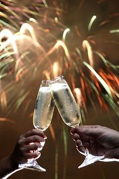 """""""Cheers"""" To A New Year <3"""