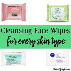 Cleansing Face Wipes for Every Skin Type Cleansing wipes are a huge staple in my beauty life. I use cleansing wipes several times a day in my beauty routine. I personally like to use my wipes to cleanse my skin before applying my makeup so that I have a nice, clean palette to work with as well as using them when I take my makeup off. There are several different kinds of makeup and cleansing ...