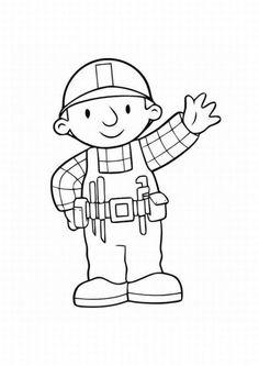 free bob the builder coloring pages with | malvorlagen, ausmalbilder, bob der baumeister
