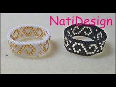 SuperDuo bead pattern tutorial - Tubular beadwork tutorial - Tubular SuperDuo beadwork - YouTube