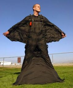 wingsuit flying-wingsuit flying     Jeb Corliss in his wing-suit, an invention that, aeronautically  speaking, is more flying squirrel than bird or plane.