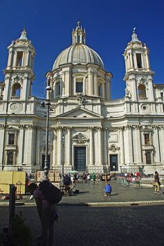 Church of St Agnes in Agony, Piazza Navona, Rome
