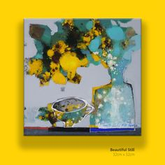 *Title: Beautiful Stil 2018 *Size: 32cm x 32cm_6s *Painting are signed by Author - Kang hyejeong. *Type: Mixed media on Canvas. *Status: This Painting is on 2018Coex Exbitition.