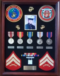 Personalized and Handcrafted Military Shadow Boxes by USShadows, $275.00