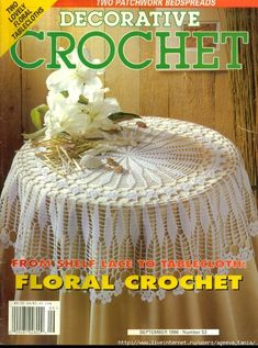 decorative crochet #53 sep 1995