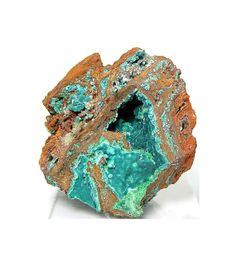 Blue Green Rare Rosasite Botryoidal Crystals in by FenderMinerals,