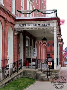 Patee House Museum by Plain Adventure, via Flickr in St. Joseph, MO.