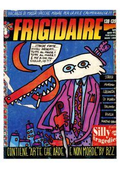 Frigidaire n. 138-139 luglio agosto 1992 Primo Carnera Immagine: Ale Pop