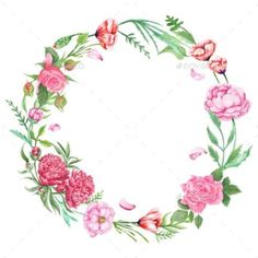 Shabby Chic Floral Wreath by kisika