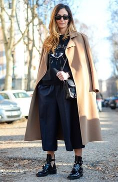 Уроки стиля! Как и с чем носить брюки кюлоты? Советы стилиста Школы Шопинга!