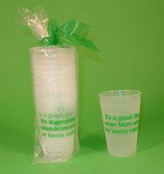 Tennis Cups Its a good day when mom wins by TennisandGolfGifts, $12.00