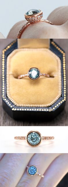 Jewelry Accessories, Jewelry Design, Ring Verlobung, Diamond Are A Girls Best Friend, Vintage Diamond, Beautiful Rings, Ring Designs, Fine Jewelry, Engagement Rings