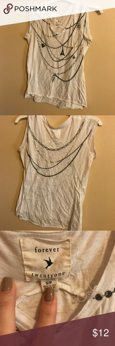 Forever 21 paris blouse Size small, Forever 21 blouse. gently worn Forever 21 Tops Blouses