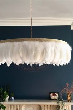 Fabulous Feather Chandelier Featuring Chains – Gloria – White Fabulous Feather Chandelier Featuring Chains – Gloria – White from Rockett St George Feather Light Shade, Chandelier Light Shade, Feather Lamp, Light Shades, Chandelier Lighting, Chandelier Ideas, White Chandelier, Chandeliers, Unique Chandelier