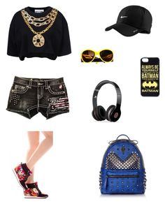 """""""hi"""" by snow-75 ❤ liked on Polyvore featuring Moschino, Miss Me, NIKE, Beats by Dr. Dre, Chanel and MCM"""