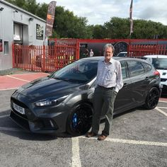 Here's John from Kilmarnock who's had a epic journey to come collect his Ford Focus RS MK3 from RS Direct Bristol one plane one taxi a night in a Hotel and now a 379 mile 7 hour drive home thanks for choosing us and we really hope you enjoy the car.  #focusrs #rsdirect #rsfocus